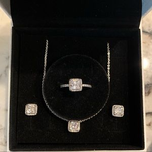 ❤️Pandora Timeless Elegance-Earring, Ring & Chain